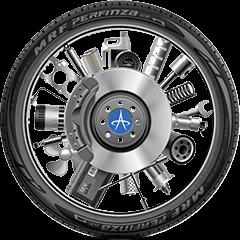 Mercedes-benz car tyre